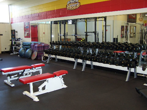 Free Weight section